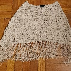 New York and Company Knit Shawl/Poncho